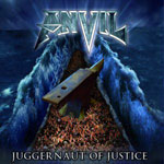 Anvil Juggernaut of Justice album new music review