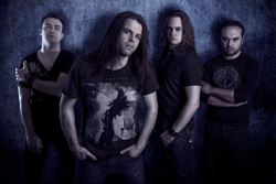 Black Fate Between Vision & Lies Band Photo
