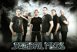 Dreadful Minds Love Hate Lies Band Photo