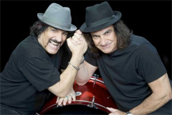 Carmine and Vinny Appice Drum Wars Live Photo