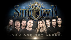 Suncrown You're Not Alone Band Photo