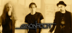 Gronholm Relativity Code For Love Band Photo