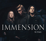 Immension - In Vain CD Album Review