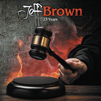 Jeff Brown 23 Years CD Album Review