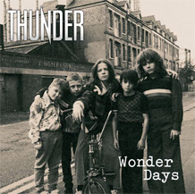 Click to read the Thunder - Wonder Days album review
