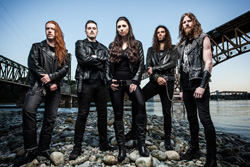 Unleash The Archers Time Stands Still Band Photo