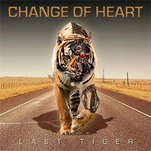 Click to read the Change Of Heart - Last Tiger CD album review