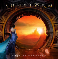 Joe Lynn Turner Sunstorm Edge Of Tomorrow CD Album Review