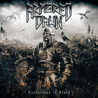 Armored Dawn - Barbarians In Black CD Album Review