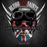 Blood Red Saints - Love Hate Conspiracies CD Album Review