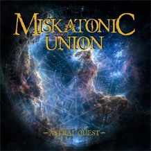 Click to read the Miskatonic Union - Astral Quest music CD Album review
