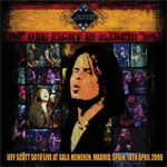 Jeff Scott Soto One Night in Madrid new music review